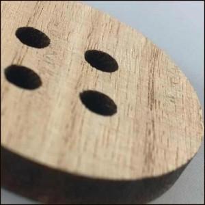 bottoni in legno