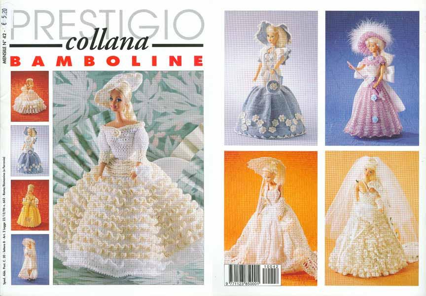 Un Elegante Vestiti I Delle Barbie All'uncinetto Per Guardaroba O1dq8wnw7